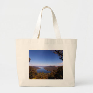 Burragorang Lookout Large Tote Bag