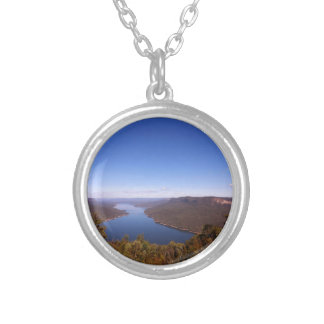 Burragorang Lookout Silver Plated Necklace