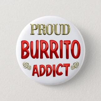 Burrito Addict 2 Inch Round Button