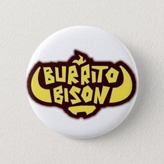 Burrito Bison Button