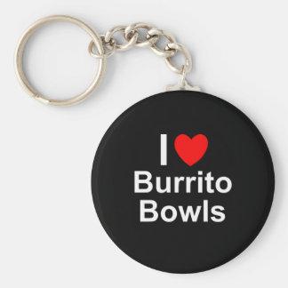 Burrito Bowls Keychain