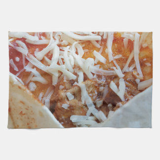 Burrito Cheese Funny Food Background Kitchen Towel