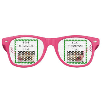 burrito retro sunglasses