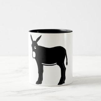 Burro Catala - Tassa Two-Tone Coffee Mug