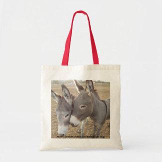 Burro Love Budget Tote Bag