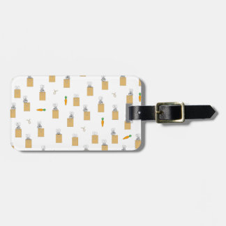 Burrowing Bounders Bags Of Bunnies Luggage Tag