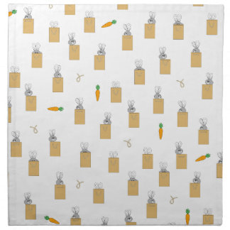 Burrowing Bounders Bags Of Bunnies Napkin