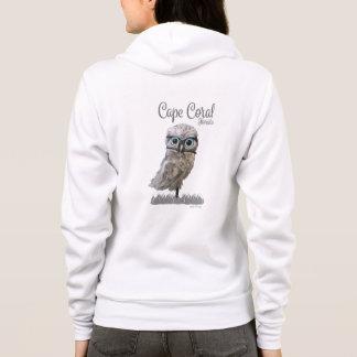 Burrowing Owl Art Cape Coral FL Hoodie