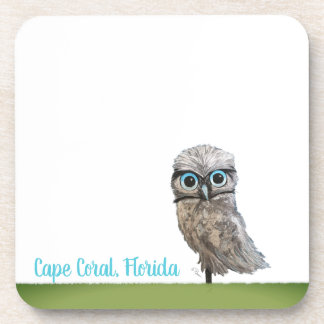 Burrowing Owl Coasters