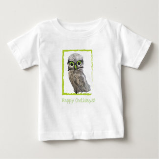 Burrowing Owl Holiday Baby T-Shirt