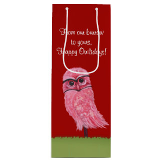 Burrowing Owl Holiday Bags