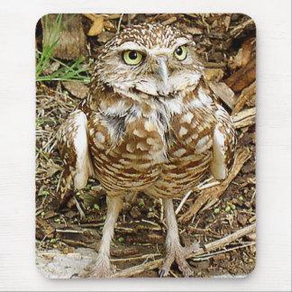 Burrowing Owl Mousepad