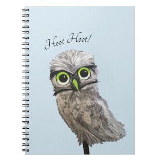 Burrowing Owl Notebook
