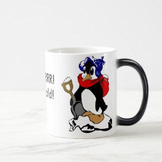 BURRRR!It's cold! Magic Mug