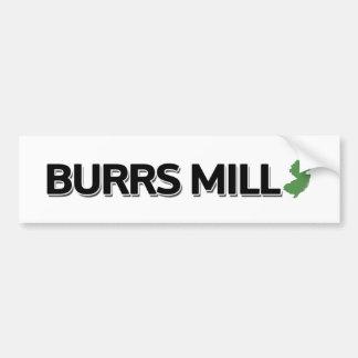 Burrs Mill, New Jersey Bumper Sticker