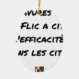 BURS? THE COP IN CITY EFFECTIVENESS IN CERAMIC ORNAMENT
