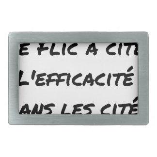 BURS? THE COP IN CITY EFFECTIVENESS IN RECTANGULAR BELT BUCKLE