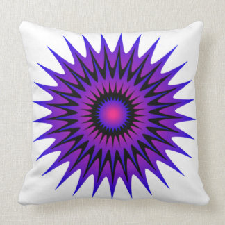 Burst14 Throw Pillow