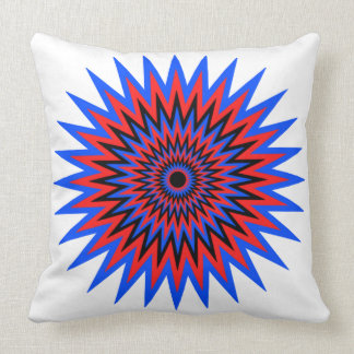 Burst17 Throw Pillow
