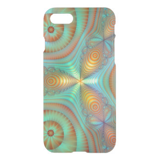 Burst Fantasy Fractal Abstract Art Bright Colors iPhone 7 Case