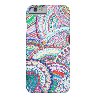 burst of color barely there iPhone 6 case
