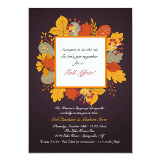 Burst of Color Invitation