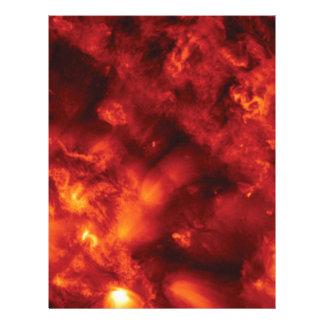 burst of flame letterhead
