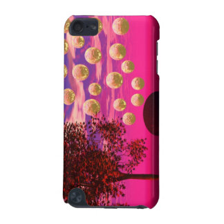 Burst of Joy – Abstract Magenta Gold Inspiration iPod Touch (5th Generation) Cover