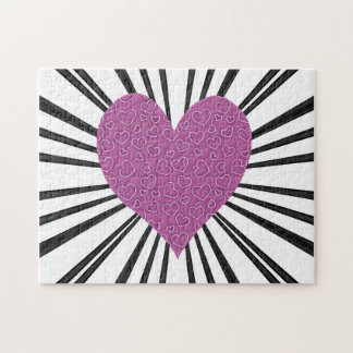 Burst Of Love (Pink) Puzzles