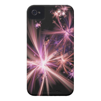 Burst of Pink Abstract Fractal Art Case-Mate iPhone 4 Case