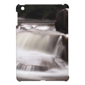 burst of water in creek iPad mini case