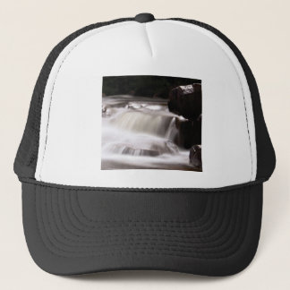 burst of water in creek trucker hat