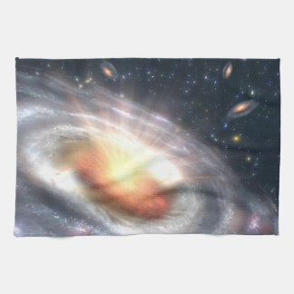 Bursting Black Hole Kitchen Towel