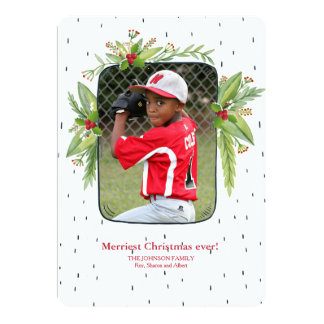 Bursting With Merriment Photo Holiday Card