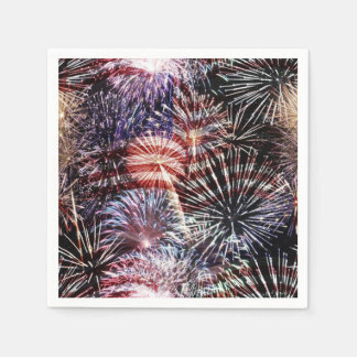 Bursting With Pride Veterans Day Party Napkins