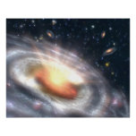 Bursting With Stars and Black Holes Posters