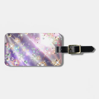 Bursts of Pain & Bubbles of Hope Luggage Tag