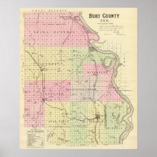 Burt County, Nebraska Poster