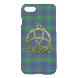 Burt Tartan And Celtic Trinity Knot iPhone 8/7 Case
