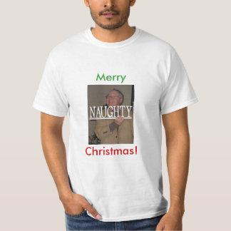 Burton naughty, Merry, Christmas! T-Shirt