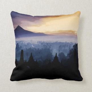 Burubudur templel pillow