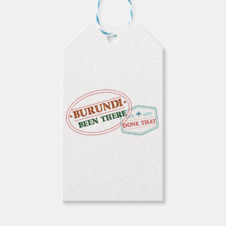 Burundi Been There Done That Gift Tags