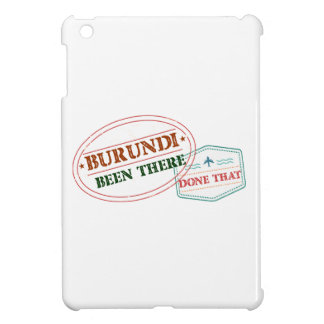 Burundi Been There Done That iPad Mini Cases