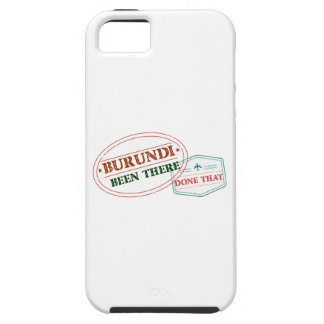 Burundi Been There Done That iPhone 5 Case