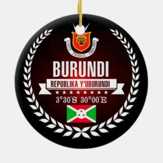 Burundi Ceramic Ornament