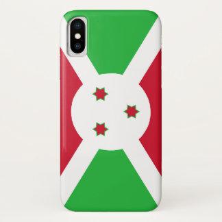Burundi country flag symbol long Case-Mate iPhone case