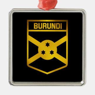 Burundi Emblem Metal Ornament