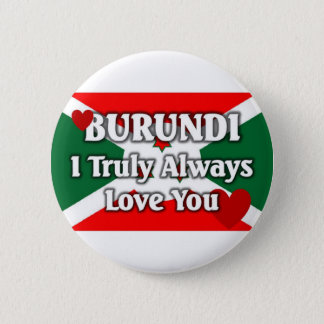Burundi Flag 2 Inch Round Button