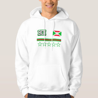 Burundi Flag Hoodie