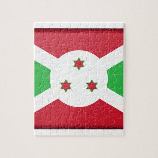 Burundi Flag Jigsaw Puzzle